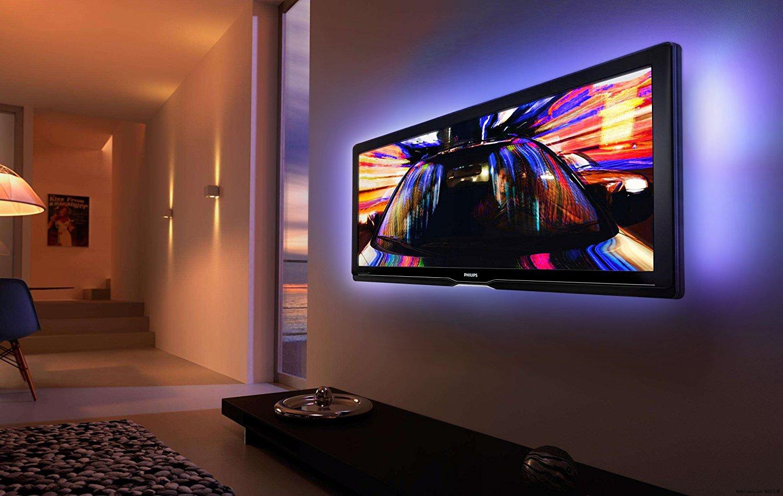 44 Key Remote Controlled Rgb Usb Powered 200cm Led Tv